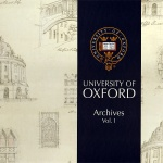 Коллекция University of Oxford Archives 1
