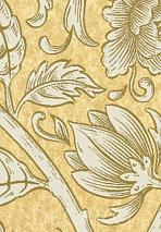 Обои Lewis & Wood Wide Width Wallpapers BOLTONSCROLL-ANTIQUEYELLOW-WPCW18858580