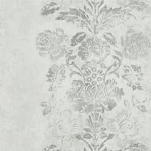 Обои Designers Guild Caprifoglio wallpapers PDG674-05 Damasco Silver