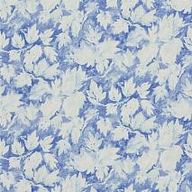 Обои Designers Guild Caprifoglio wallpapers PDG679-01 Fresco Leaf Indigo